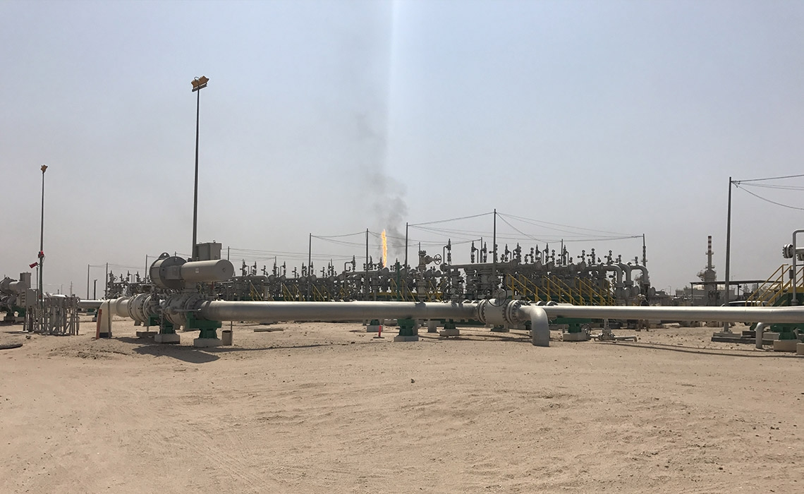 EPC for Oil Gathering Network Installation, Zubair Field